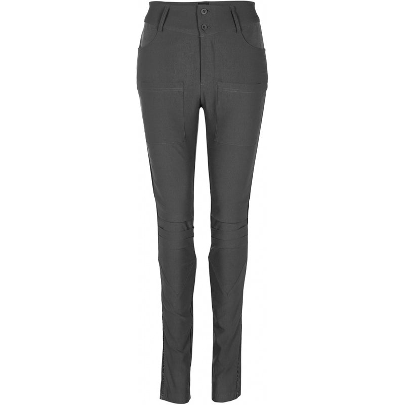 Nola Eli Power Stretch Trousers- Magnet Grey