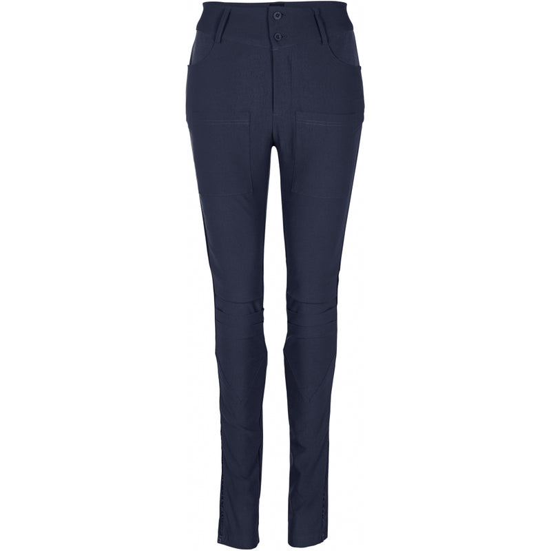 Nola Eli Power Stretch Trousers- Midnight Blue