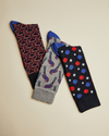 Three-Pack Sock Gift Set- Assorted