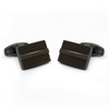 Textured Brass Cufflinks