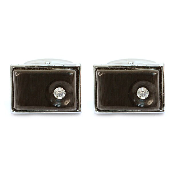 Rectangular Brass Cufflinks