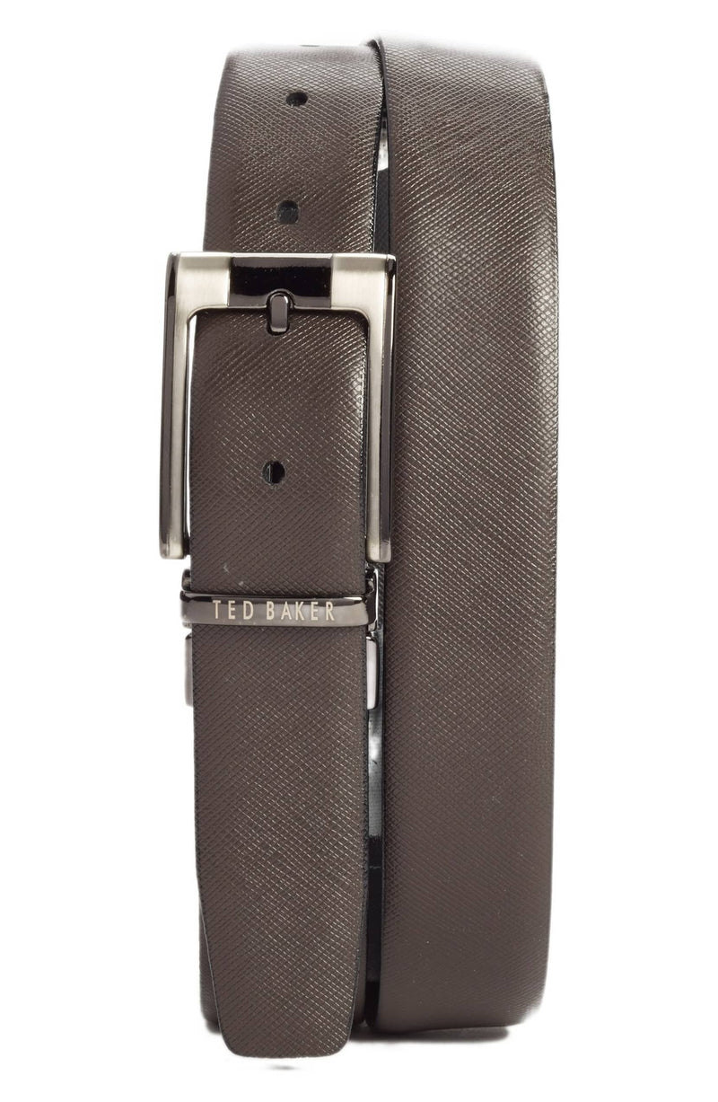 Reversible Leather Belt - Black/Brown