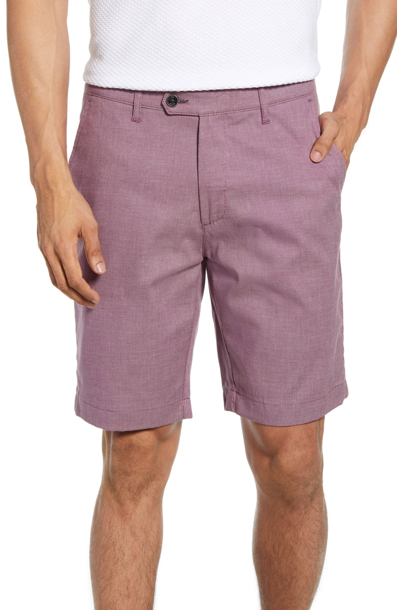 Semi Plain Shorts- Purple