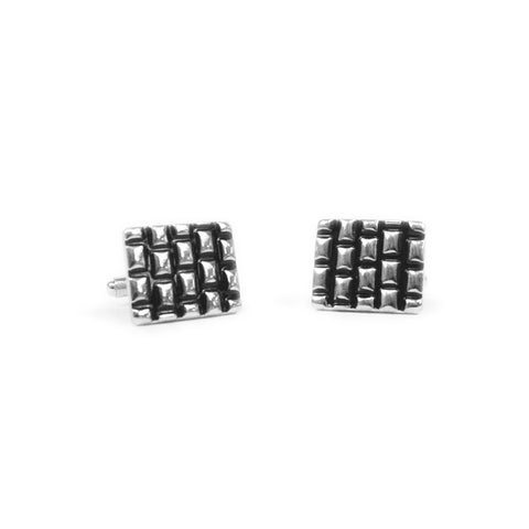 Metal Cufflink Stud Set