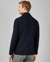 Jersey Jacket with Removable Insert- Navy