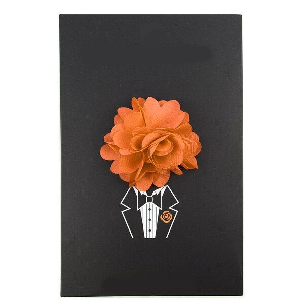 Orange Lapel Pin