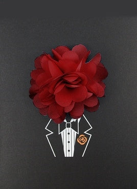 Burgundy Lapel Pin