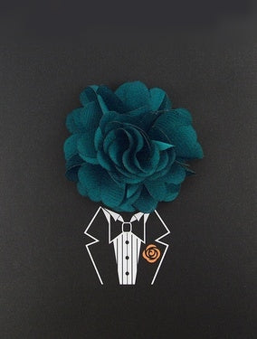 Teal Lapel Pin