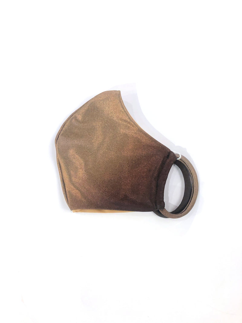 Hand Sewn Reversible Face Mask- Sand Dune