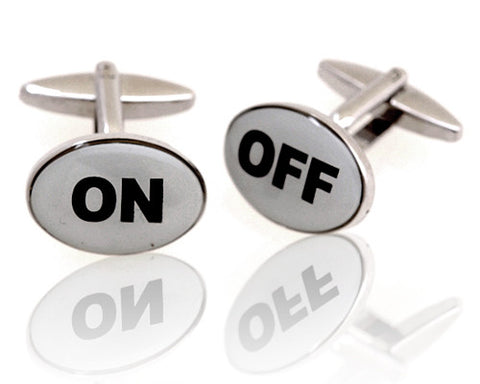 On & Off Cufflinks