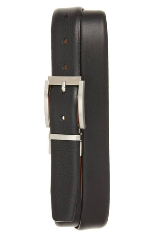 Ted Baker Reversible Leather Belt - Black/Tan