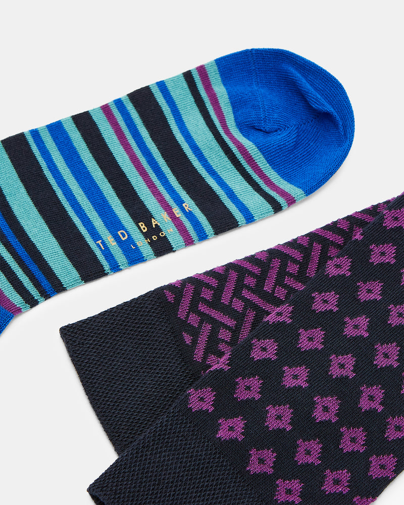 Three-Pack Assorted Sock Set
