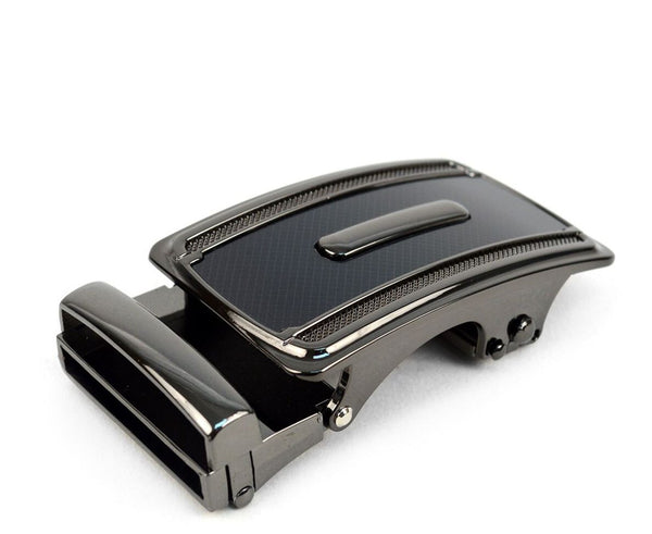 Slide Buckle Ratchet Belt- Black