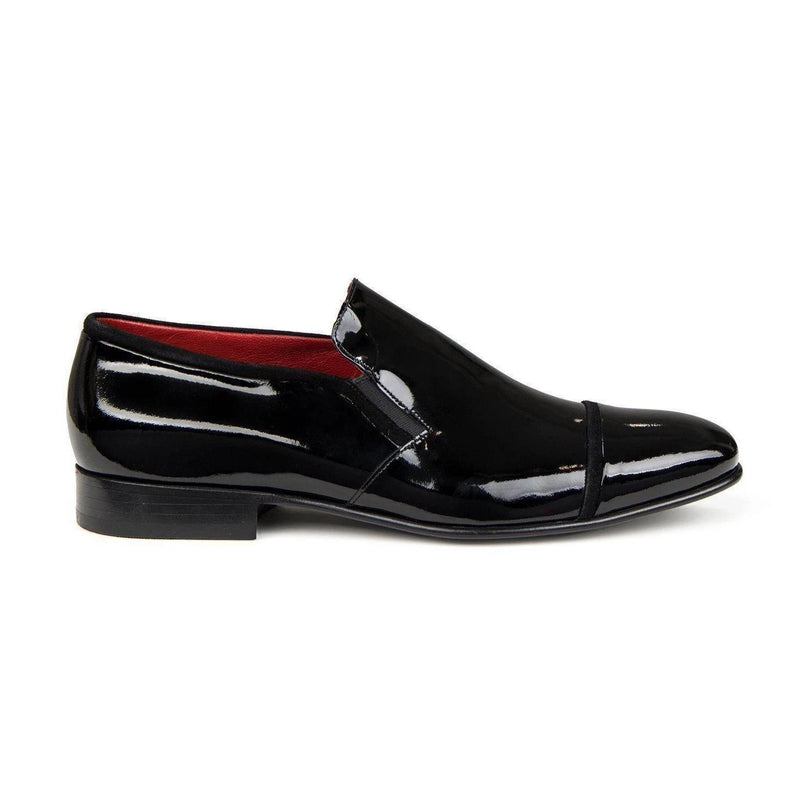 Patent Leather Loafer- Black