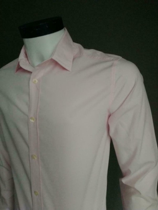 Essentiel Antwerp overhemd. Roze. Maat 37 / S. Regular Fit
