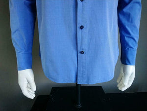 Blue Industry overhemd. Kleur Blauw. Maat 38. Perfect Fit