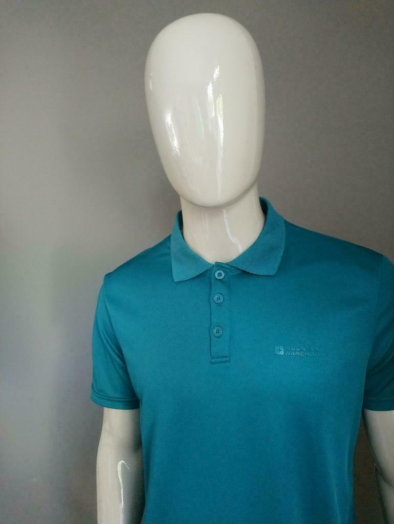 Mountain Warehouse sport polo. Groen. Maat L.