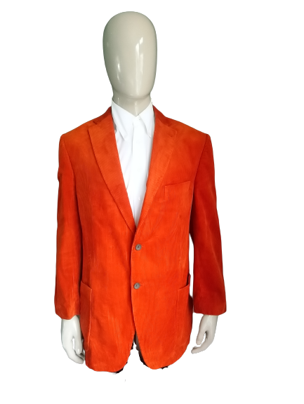 McGregor Presidents collection Rib colbert. Oranje. Maat 56.