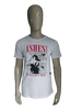 Ashes to Dust shirt. Wit met opdruk. Maat M.