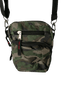 Atlas for Men schoudertas/ tas. Groene Army print. 3-vaks.