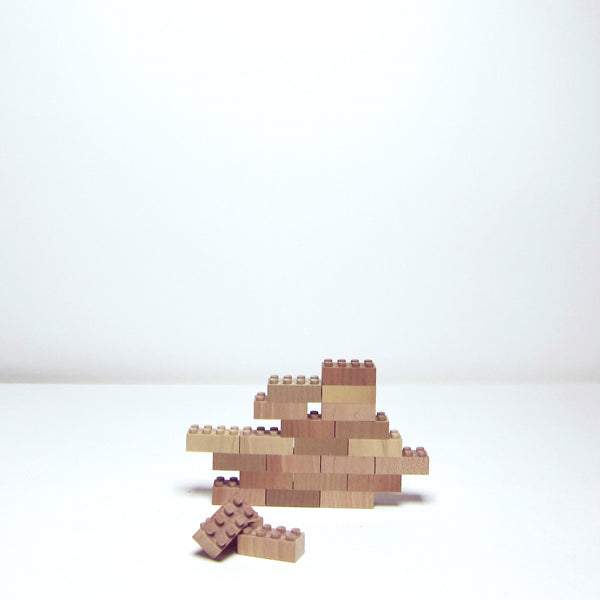 Small wood bricks