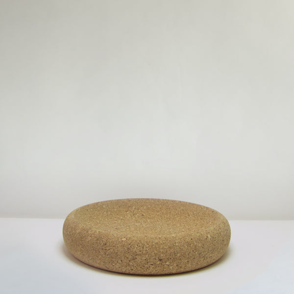 Large shallow cork dish