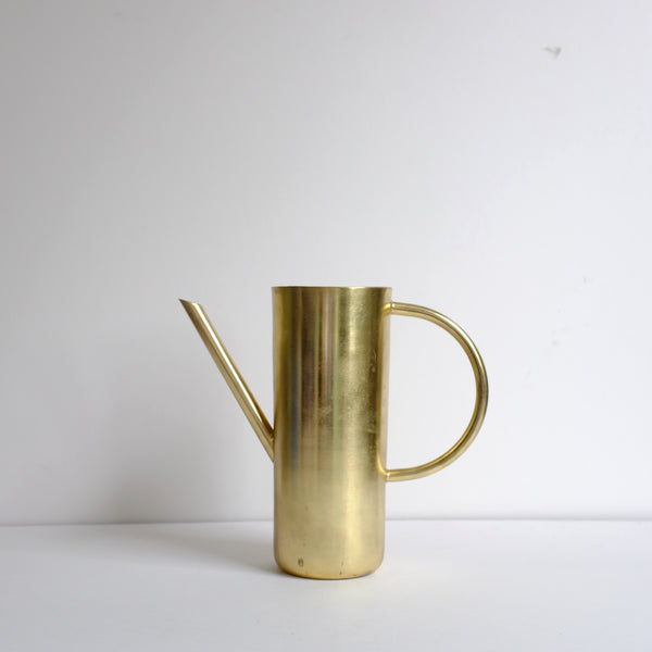 Brushed gold watering can