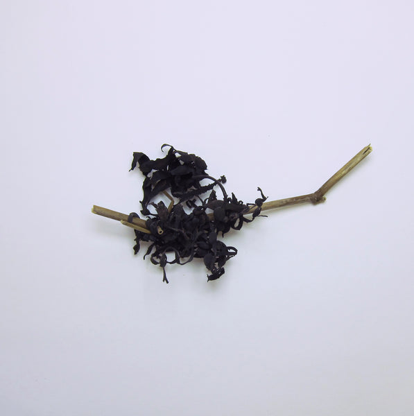 Dried seaweed on stick