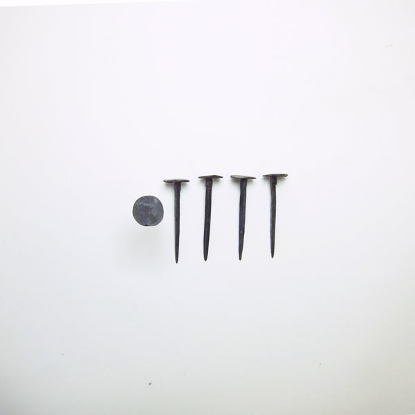 9cm Black forged nails