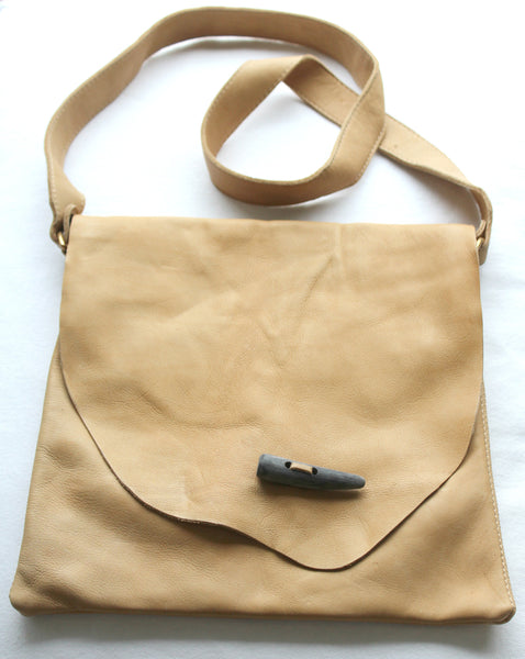 FLOP BAG - leather or suede