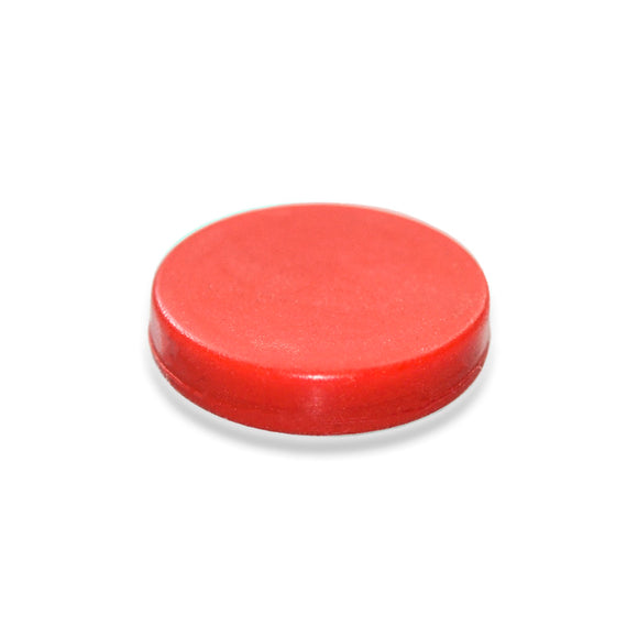 Button Magnet red