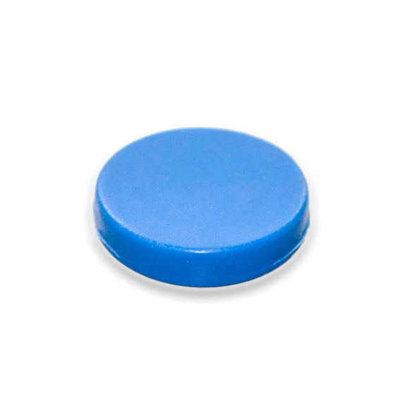 Button Magnet blue