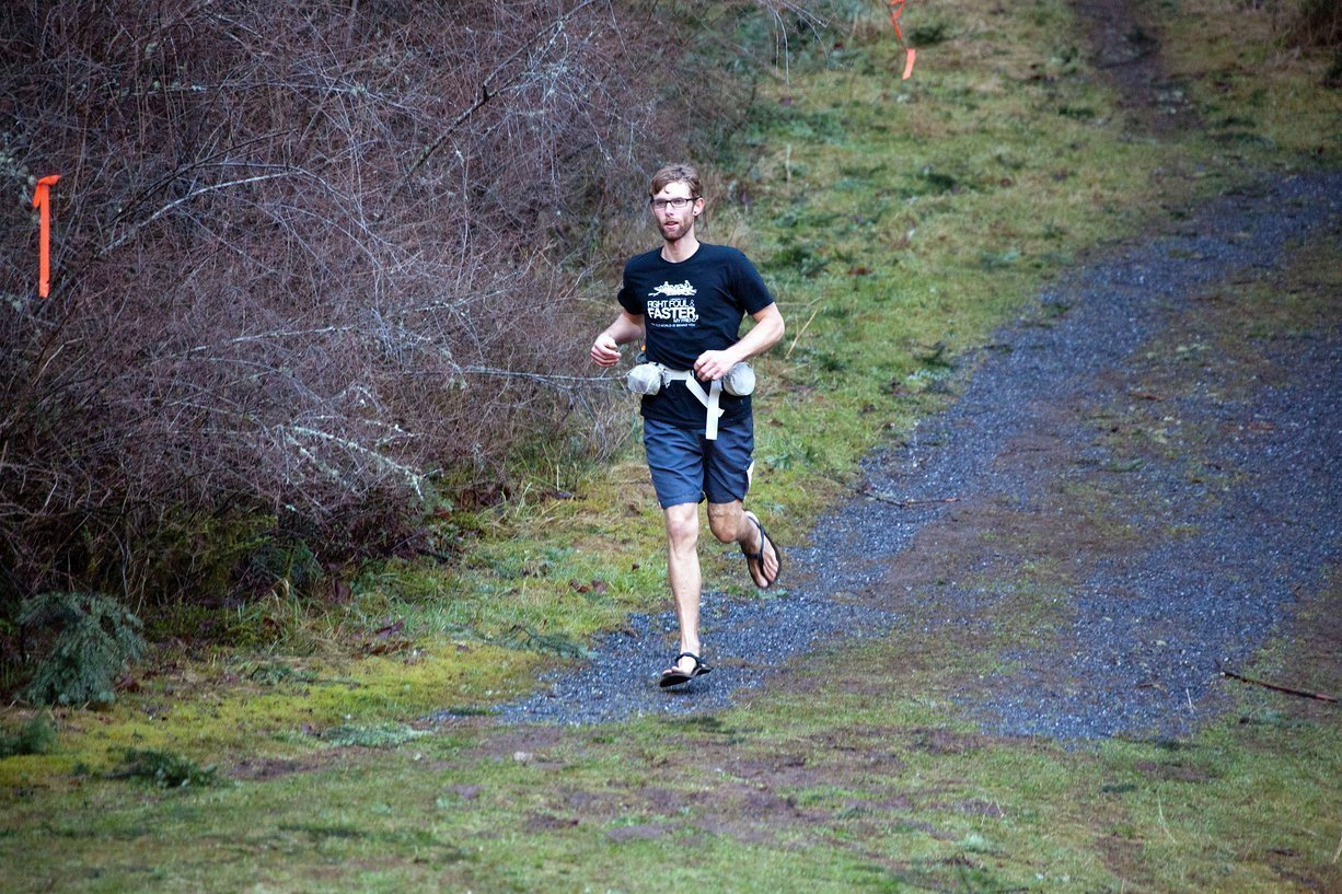 THROWBACK <BR> ORCAS ISLAND 50K WITH LUNA SANDALS <BR> 2012 RACE REPORT