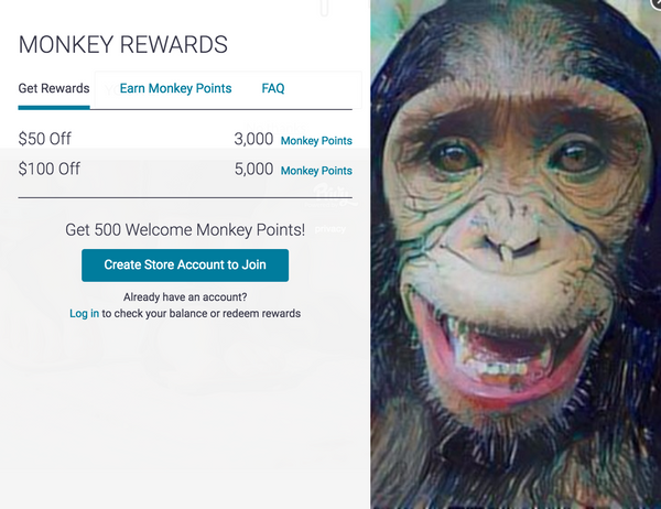 LUNA Sandals - Monkey Rewards & Monkey Points