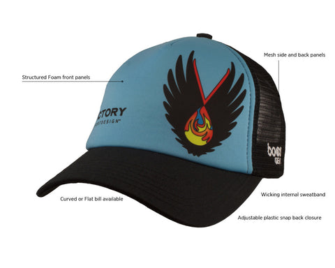 Boco Foam Trucker Hat Technical Specs