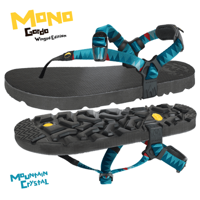 LUNA Sandals Mono Gordo Winged Edition. Outdoor Adventure & Running Sandal