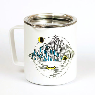LUNA Sandals x MiiR X Kate Zessel Camp Mug