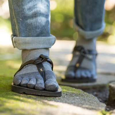 LUNA Sandals - Injinji Nu-Wull Toe Socks