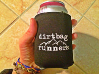 Dirtbag runners Beer Koozie  - LUNA Sandals - 2