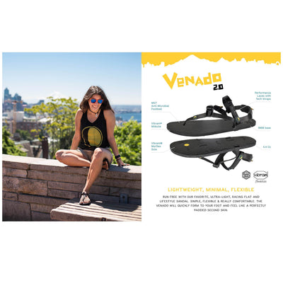 Luna Sandals, Venado 2.0. Ultralight running sandals