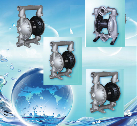 Stainless Steel Diaphragm Fluid Pumps