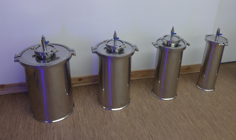 Stainless Vacuum Storage Containers