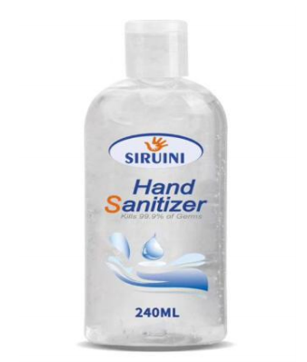 Hand Sanitizer 240ml  qty.1000 per Order