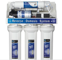 50G Economy Reverse Osmosis Water Filtration Kit w/ Faucet