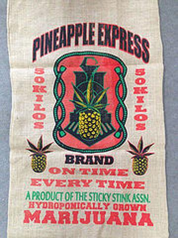 Burl Bag Pineapple Express