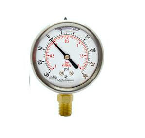 Vacuum Gauge and Pressure Gauges