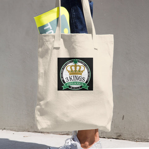 3 Kings Organics Cotton Tote Bag