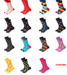 27 styles Striped Plaid Cotton Socks