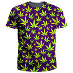 Green weed Printed T Shirt