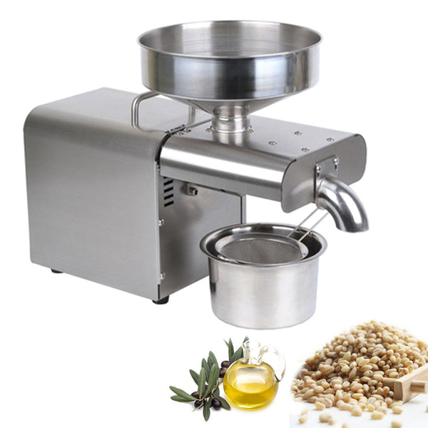 Hemp Seed Oil Screw Press